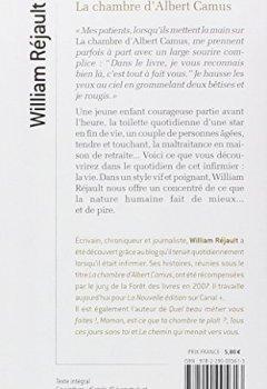 Livres Couvertures de La chambre d'Albert Camus : Et autres nouvelles