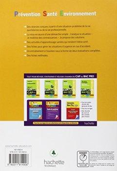 Livres Couvertures de Prévention Santé Environnement CAP - Livre élève - Ed. 2012