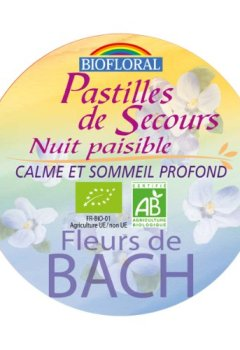 Livres Couvertures de Biofloral Pastilles de Secours Nuit Paisible 50 g
