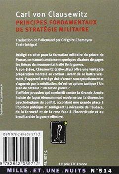 Livres Couvertures de Principes fondamentaux de stratégie militaire