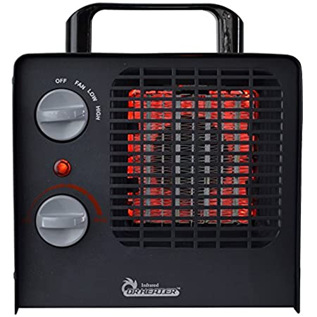 Enjoy a perfectly warmed room with the Dr. Infrared heater DR-838 family heater. It's the best space heater for its grade Dr infrared heater ever build, industrial grade product at household pricing. It features an adjustable thermostat, high, low an...