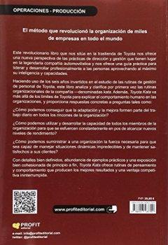 Portada del libro deToyota Kata. El método que ayudó a miles de empresas a optimizar la gestión de sus negocios