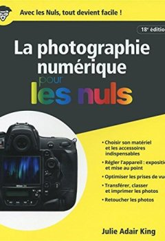Livres Couvertures de La Photographie numérique pour les Nuls, 18e édition