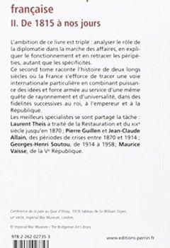 Livres Couvertures de Histoire de la diplomatie française (2)