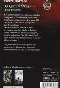 Livres Couvertures de L'Île du destin (La Quête d'Ewilan, Tome 3)