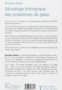 Livres Couvertures de Décodage biologique des problèmes de peau