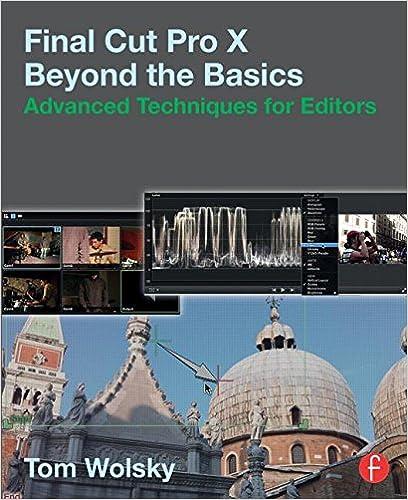 FCPX Advanced Techniques Book