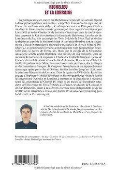 Livres Couvertures de Richelieu et la Lorraine