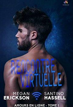 Livres Couvertures de Rencontre virtuelle: Amours en ligne, T1
