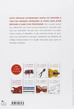 Livres Couvertures de Le piano sans professeur