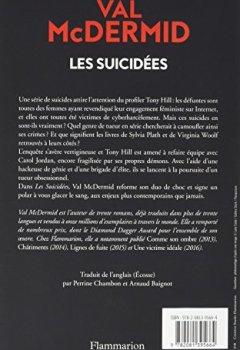 Livres Couvertures de Les Suicidées