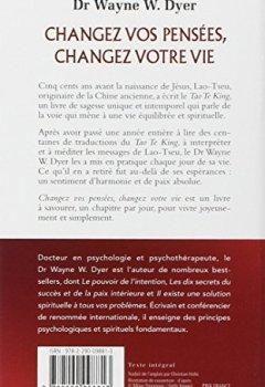 Livres Couvertures de Changez vos pensées, changez votre vie : La sagesse du Tao