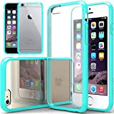 """<a class=""""alrptip"""" href=""""http://pixelpinch.com/2011/05/android-vs-ios-iphone/"""" data-recalc-dims=""""1"""" />iPhone</a> 6 Case, Caseology [Clearback Bumper] Apple iPhone 6 (4.7&quot; inch) Case [DIY Customization] [Turquoise Mint] Scratch-Resistant Clear Back Cover [Drop Protection] TPU Hybrid Fusion <a class=""""alrptip"""" href=""""http://pixelpinch.com/2012/03/10-most-wanted-articles-of-pixelpinch-100-articles-milestone/"""">Best</a> Apple iPhone 6 clear case for 4.7 Inch (for Apple iPhone 6 Verizon, AT&amp;T Sprint, T-mobile, Unlocked)"""