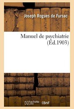 Livres Couvertures de Manuel de psychiatrie