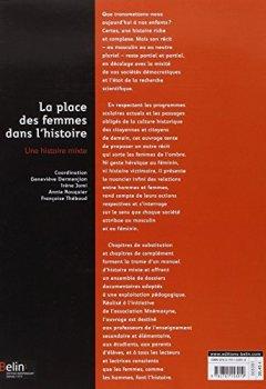 Livres Couvertures de La place des femmes dans l'histoire : Une histoire mixte