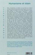 Livres Couvertures de Humanisme et Islam : Combats et propositions