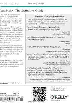 Livres Couvertures de JavaScript: The Definitive Guide 6e