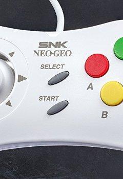 Livres Couvertures de Neo Geo Mini - Manette - Blanche