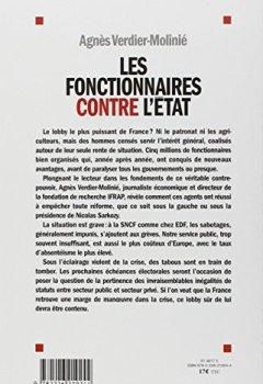 Livres Couvertures de Les fonctionnaires contre l'Etat : Le grand sabotage