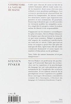Livres Couvertures de Comprendre la nature humaine