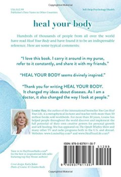 Livres Couvertures de Heal Your Body / New Cover: The Mental Causes for Physical Illness and the Metaphysical Way to Overcome Them