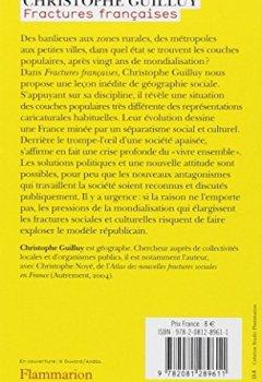 Livres Couvertures de Fractures françaises