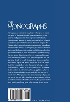 Livres Couvertures de The Monographs - A Comprehensive Manual on All You Need to Know to Become an Expert Deductionist.