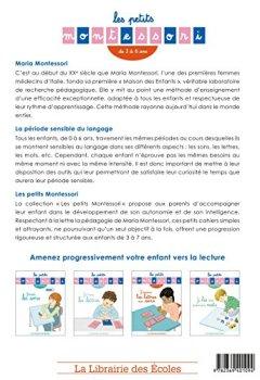 Livres Couvertures de Les petits Montessori - J'associe les lettres aux sons