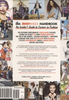 Livres Couvertures de The Teen Vogue Handbook: An Insider's Guide to Careers in Fashion.