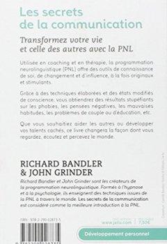 Livres Couvertures de Les secrets de la communication : Les techniques de la PNL
