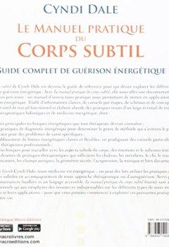 Livres Couvertures de Le manuel pratique du corps subtil : Guide complet de guérison énergétique