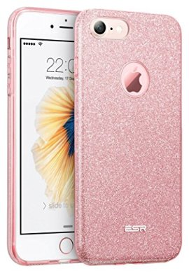 Custodia-iPhone-7-SiliconeCase-Cover-per-iPhone-7-in-SiliconeESR-iPhone-7-Glitter-Bling-Case-Cover-iPhone-7-7SRose-Gold