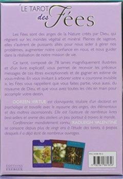 Livres Couvertures de Le tarot des fées - 78 cartes + livre explicatif