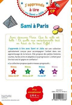Livres Couvertures de Sami et Julie CP Niveau 1 Sami à Paris