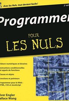 Livres Couvertures de Programmer pour les Nuls, 2ème édition