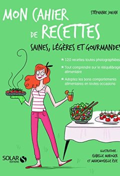 Livres Couvertures de Mon cahier de recettes