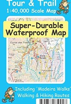 Livres Couvertures de Madeira Tour & Trail Super-Durable Map