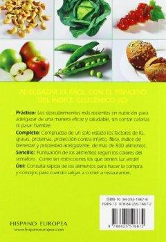 Livres Couvertures de Tabla del indice glucemico de los alimentos/The Glycemic Index Food Content Guide