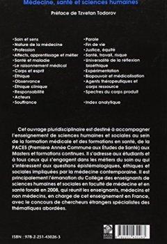 Livres Couvertures de Médecine, santé et sciences humaines: Manuel