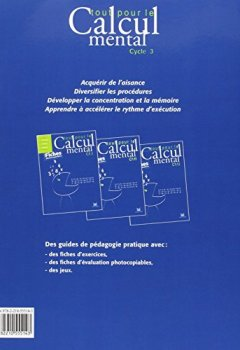 Livres Couvertures de Tout pour le calcul mental CM1 : Avec fiches photocopiables