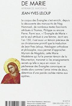 Livres Couvertures de L'Évangile de Marie - Myriam de Magdala