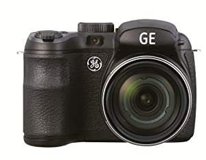 GE Power Pro X500-BK 16 MP with 15 x Optical Zoom Digital Camera, Black