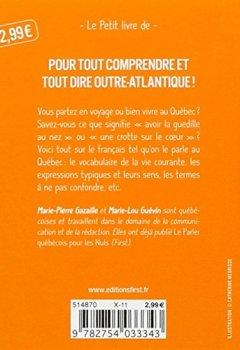 Livres Couvertures de Petit livre de - Les 1000 mots indispensables en québécois
