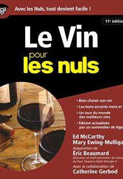 Livres Couvertures de Le Vin pour les Nuls - 11e édition