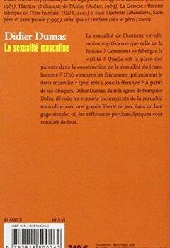 Livres Couvertures de La sexualité masculine