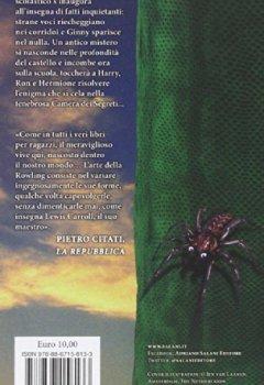 Livres Couvertures de Harry Potter E La Camera Dei Segreti