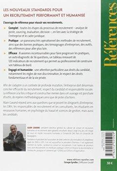 Livres Couvertures de Le recrutement : Enjeux, outils, meilleures pratiques et nouveaux standards