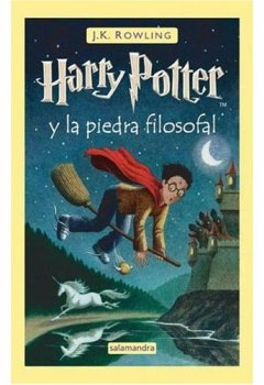 Buchdeckel von Harry Potter y la Piedra Filosofal (Spanish edition of Harry Potter and the Sorcerer's Stone)