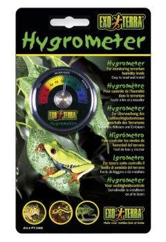 Livres Couvertures de Exoterra Hygromètre à Aiguille pour Reptiles et Amphibiens