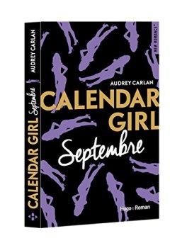 Livres Couvertures de Calendar Girl - Septembre
